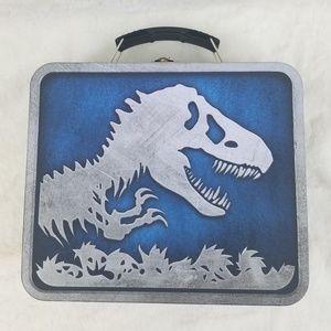 Jurassic World Tin Box Like New